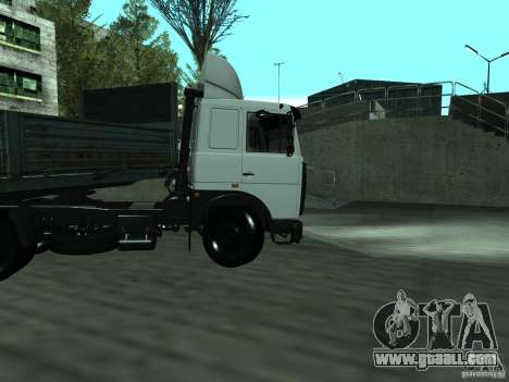 MAZ 5432 for GTA San Andreas inner view