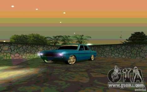 GAS 24 v 1.0 for GTA San Andreas