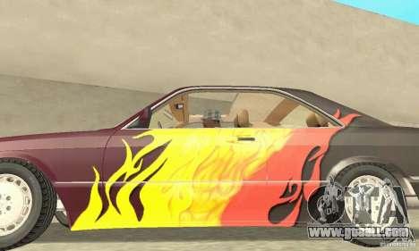 Mercedes-Benz W126 560SEC for GTA San Andreas