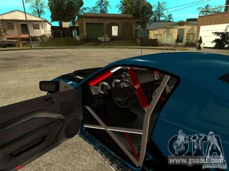 Ford Mustang Drag King for GTA San Andreas back view