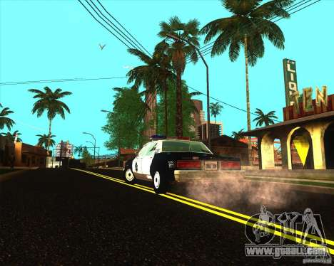 Chevrolet Caprice 1986 SFPD for GTA San Andreas right view