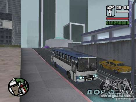 Ikarus 260.27 for GTA San Andreas left view