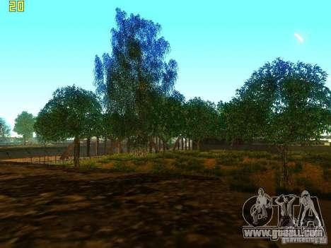 Perfect vegetation v. 2 for GTA San Andreas