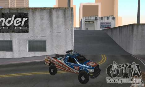 Dodge Power Wagon Paintjobs Pack 2 for GTA San Andreas right view
