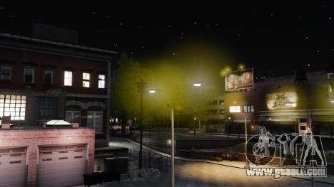 Yellow light lights for GTA 4 third screenshot