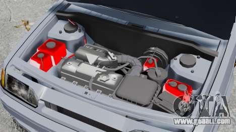 Vaz-2114 v1.1 for GTA 4 back view