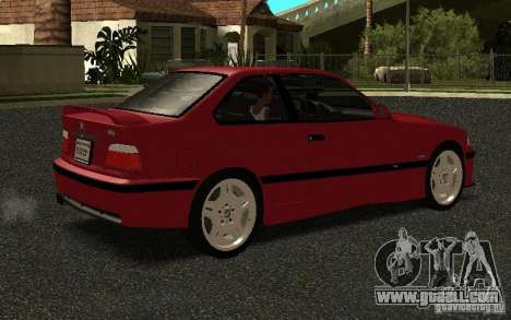 BMW E36 M3 1997 Coupe Forza for GTA San Andreas right view