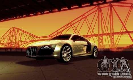 Audi R8 5.2 FSI Quattro for GTA San Andreas
