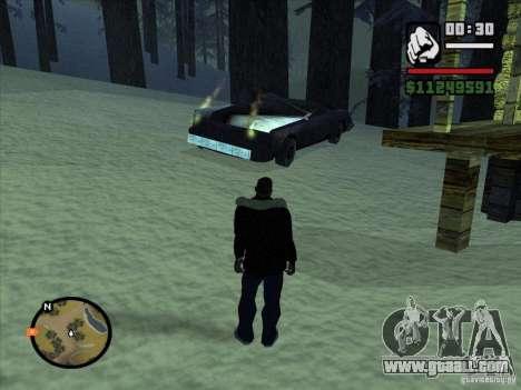 GhostCar for GTA San Andreas forth screenshot