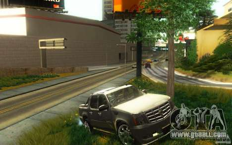 Cadillac Escalade EXT for GTA San Andreas right view