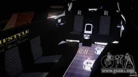 Rolls Royce Phantom Sapphire Limousine Disco for GTA 4 side view