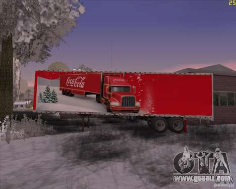 The trailer for the Trailer of Coca Cola for GTA San Andreas