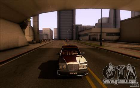 Bentley Arnage R 2005 for GTA San Andreas side view