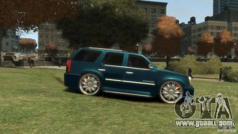 Cadillac Escalade Dub for GTA 4 right view