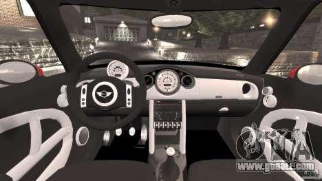 Mini Cooper S v1.3 for GTA 4 back view