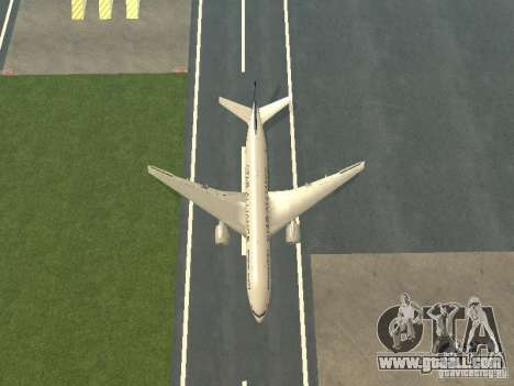 Boeing 777-200 Singapore Airlines for GTA San Andreas side view
