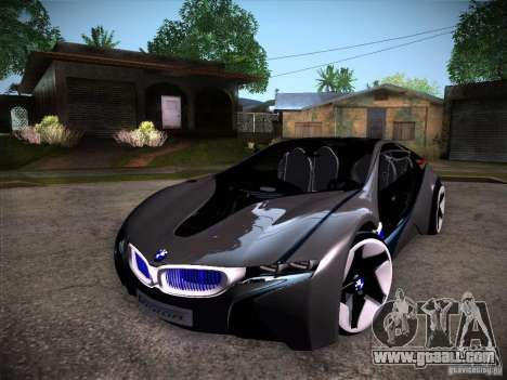 BMW Vision Efficient Dynamics I8 for GTA San Andreas