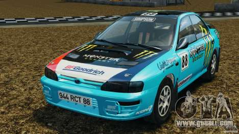 Subaru Impreza WRX STI 1995 Rally version for GTA 4