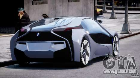 BMW Vision Efficient Dynamics v1.1 for GTA 4 side view