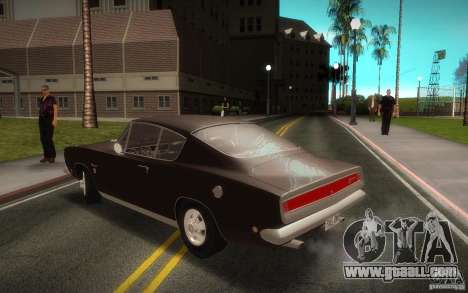 Plymouth Barracuda Formula S for GTA San Andreas left view