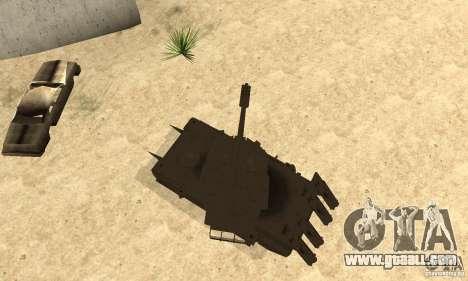 Rhino Tank Megatron for GTA San Andreas right view