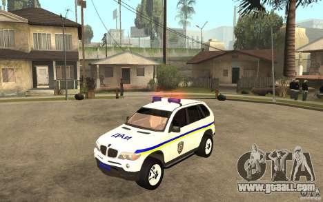 BMW X 5 DAÌ for GTA San Andreas