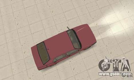 Alfa Romeo 75 for GTA San Andreas back left view