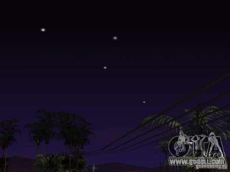 Timecyc - Purple Night v2.1 for GTA San Andreas tenth screenshot