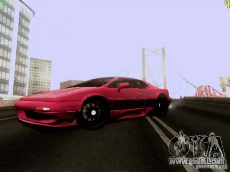 Lotus Esprit V8 for GTA San Andreas left view