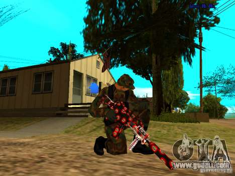 Trollface weapons pack for GTA San Andreas second screenshot
