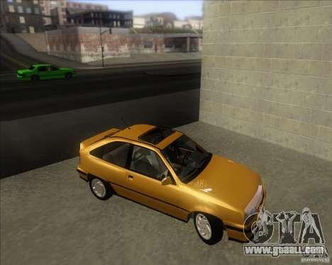Chevrolet Kadett GSi 2.0 (1991-1995) for GTA San Andreas right view
