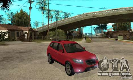 Hyundai Santa Fe for GTA San Andreas back view