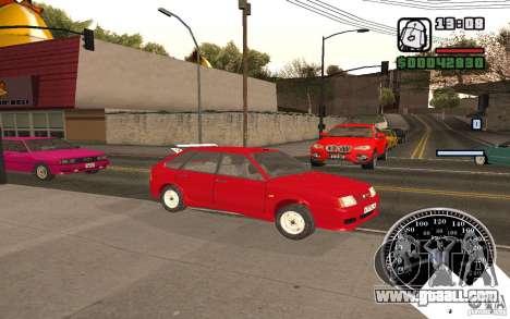 VAZ 21093i for GTA San Andreas upper view