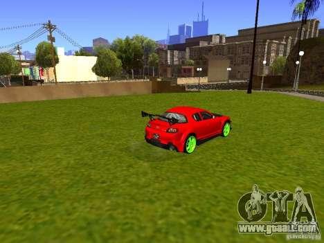 Mazda RX-8 R3 Tuned 2011 for GTA San Andreas left view