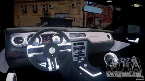 Ford Mustang V6 2010 Premium v1.0 for GTA 4 right view
