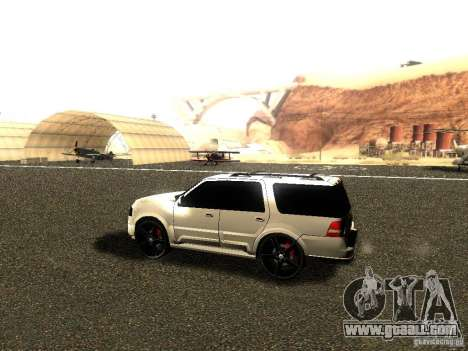 Ford Expedition 2008 for GTA San Andreas back left view