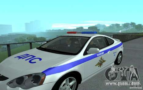 Police on the bridge of San Fiero_v. 2 for GTA San Andreas fifth screenshot