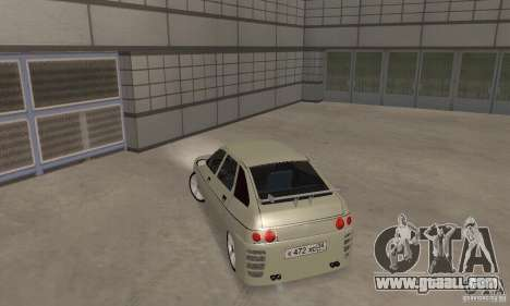 LADA 2112 Tuning (F) for GTA San Andreas back left view