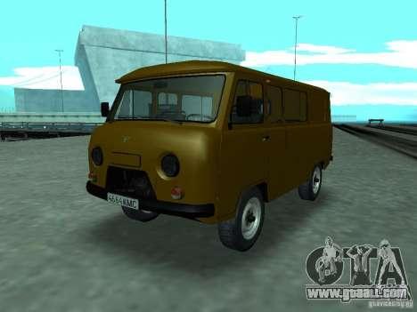 UAZ 3909 for GTA San Andreas