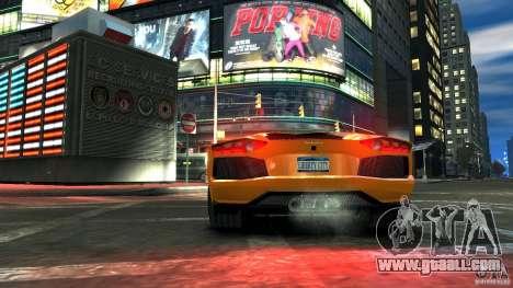 Lamborghini Aventador LP700-4 2011 EPM for GTA 4 right view