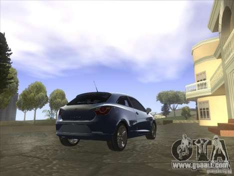 Seat Ibiza 2008 for GTA San Andreas left view