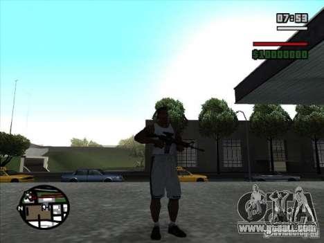 I AM Legend M4A1 for GTA San Andreas second screenshot