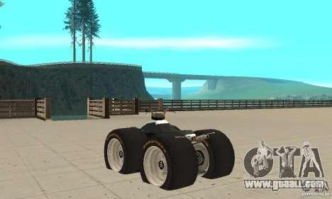 QUAD BIKE Custom Version 1 for GTA San Andreas back left view