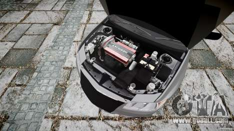 Mitsubishi Lancer Evolution VIII v1.0 for GTA 4 right view