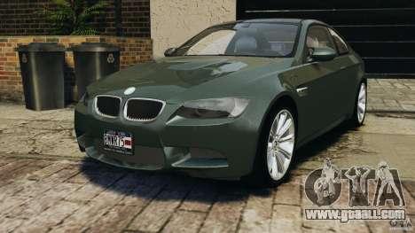 BMW M3 E92 2007 v1.0 [Beta] for GTA 4