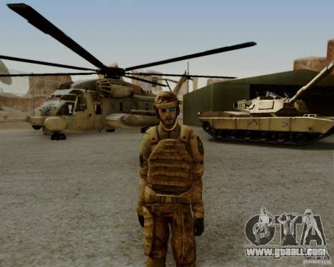 Tom Clancys Ghost Recon for GTA San Andreas fifth screenshot