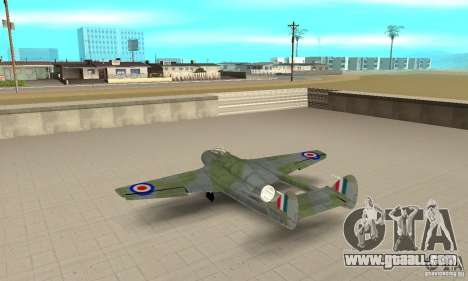 De-Havilland-Vampire ver 2.0 for GTA San Andreas