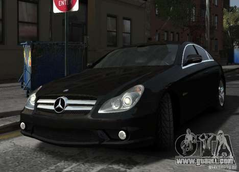 Mercedes-Benz CLS 63 AMG for GTA 4 inner view