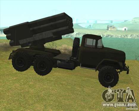 ZIL-131 in Grad for GTA San Andreas left view