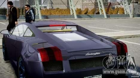 Lamborghini Gallardo Superleggera for GTA 4 engine